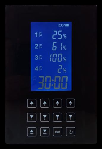 Infrarotkabine Steuerungs-App